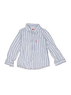 Levi's Long Sleeve Button-Down Shirt Size 3