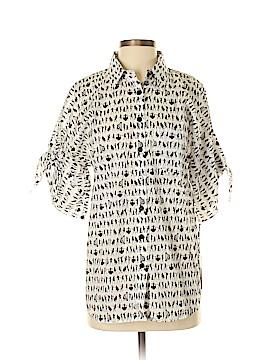 Worth New York Short Sleeve Button-Down Shirt Size M