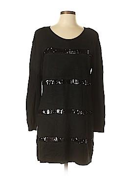 Como Black Casual Dress Size L