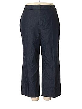 Larry Levine Khakis Size 24W (Plus)