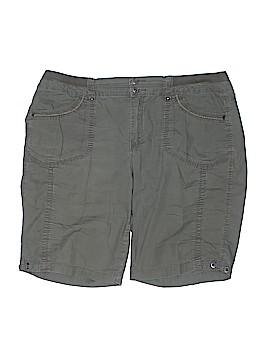 Gloria Vanderbilt Khaki Shorts Size 14