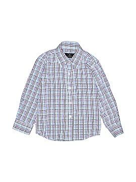 Vittorio Long Sleeve Button-Down Shirt Size 5