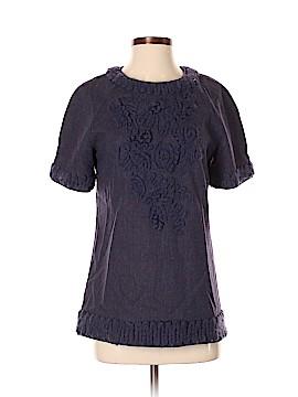 Lela Rose Short Sleeve Blouse Size 4