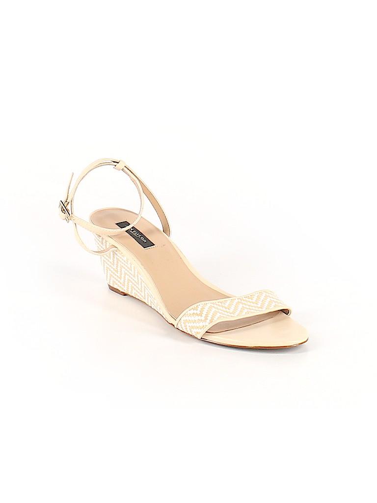 Ann Taylor Women Wedges Size 9 1/2