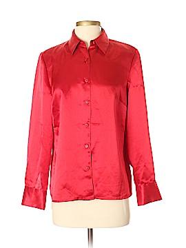Karen Scott Long Sleeve Blouse Size S