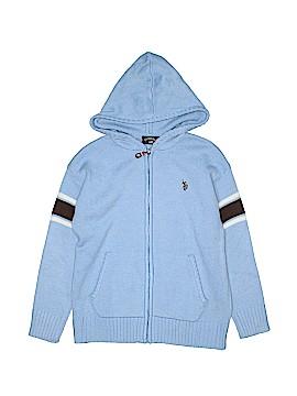 U.S. Polo Assn. Zip Up Hoodie Size 5 - 6