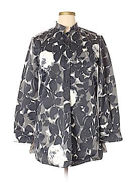 MARNI Long Sleeve Button-Down Shirt Size 46 (IT)