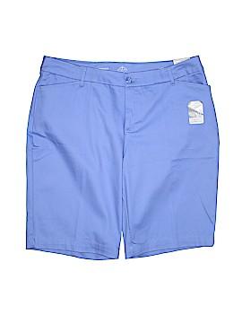 St. John's Bay Khaki Shorts Size 18w (Plus)