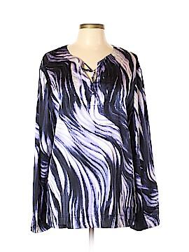 St. John Long Sleeve Blouse Size XL