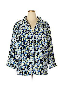 Maggie Barnes 3/4 Sleeve Blouse Size 4X (Plus)