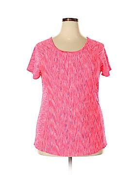 90 Degrees by Reflex Active T-Shirt Size 1X (Plus)