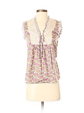 Katayone Adeli Short Sleeve Blouse Size XS