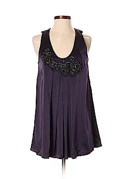 Vera Wang Collection Sleeveless Silk Top Size 2
