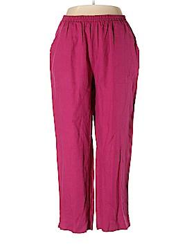 Ulla Popken Linen Pants Size 16 - 18