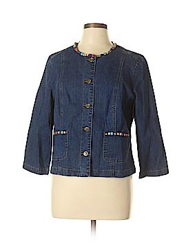 Ruby Rd. Denim Jacket Size 12