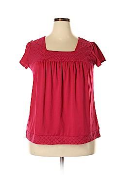 R.Q.T Short Sleeve Top Size 1X (Plus)