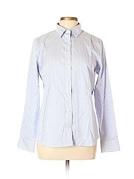 Lands' End Long Sleeve Button-Down Shirt Size 12