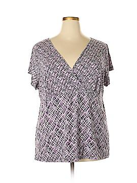 Liz & Co Short Sleeve Top Size 3X (Plus)