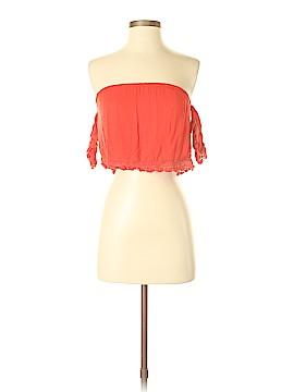 LA Hearts Short Sleeve Blouse Size XS