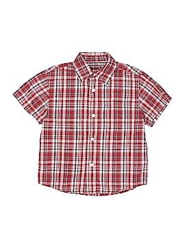 Arizona Jean Company Short Sleeve Button-Down Shirt Size L (Youth)