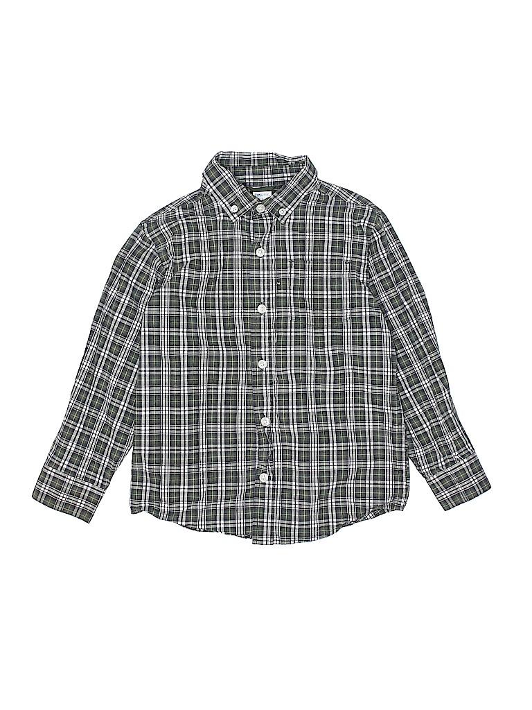 Gymboree Boys Long Sleeve Button-Down Shirt Size 5