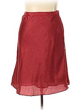 Kate Hill Silk Skirt Size 18 (Plus)