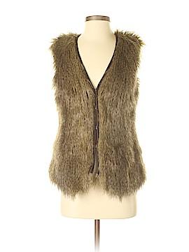 Tinley Road Faux Fur Vest Size XS