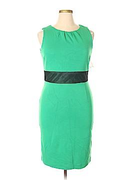 Pink Tartan Casual Dress Size 14