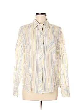 Liz Claiborne Long Sleeve Button-Down Shirt Size M