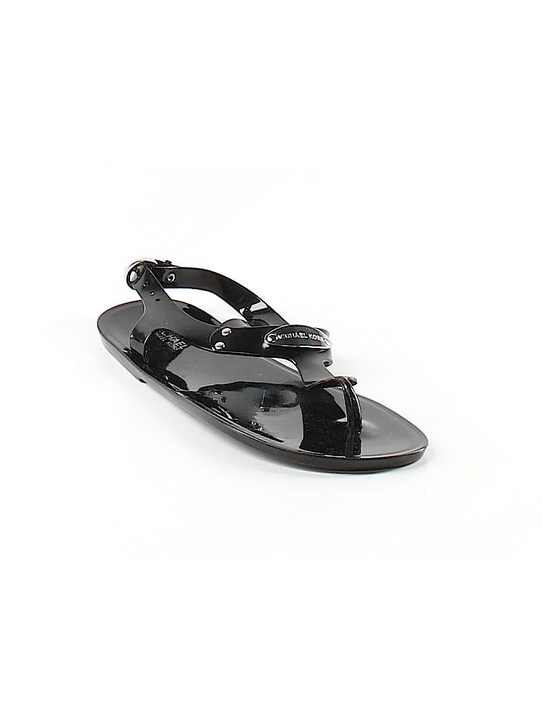 fff617375fcc MICHAEL Michael Kors Solid Black Sandals Size 7 - 72% off