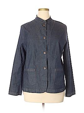 Eileen Fisher Denim Jacket Size XL