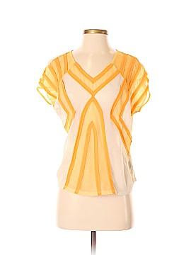 Sparkle & Fade Short Sleeve Blouse Size 2