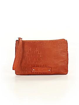 Linea Pelle Leather Wristlet One Size