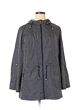 Susan Graver Raincoat Size 1X (Plus)