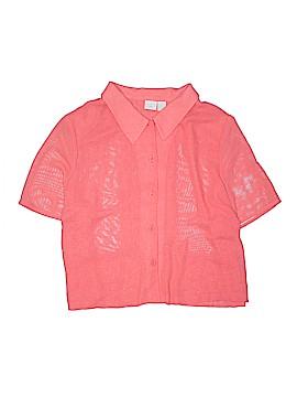 Studio C Short Sleeve Blouse Size 24 (Plus)