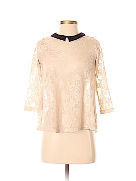Trafaluc by Zara Long Sleeve Top Size S