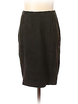 Escada Leather Skirt Size 34 (EU)