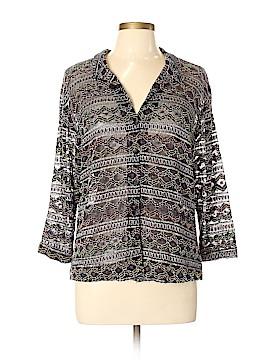 Andria Lieu 3/4 Sleeve Blouse Size XL