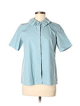 Cos Short Sleeve Button-Down Shirt Size 6