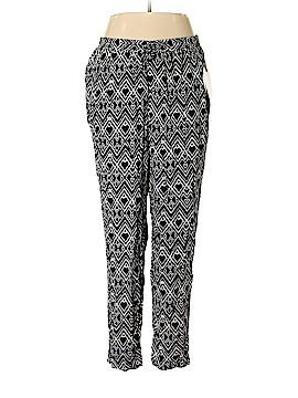 Jane Ashley Casual Pants Size 1X (Plus)