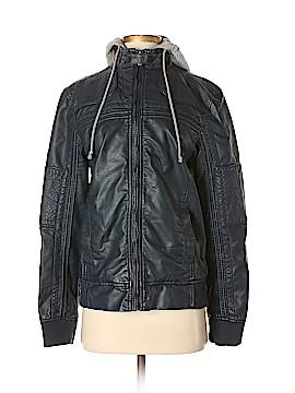 Chor Faux Leather Jacket Size S