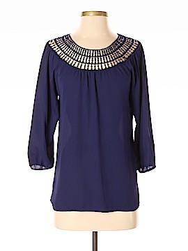 Xhilaration 3/4 Sleeve Blouse Size S (Petite)