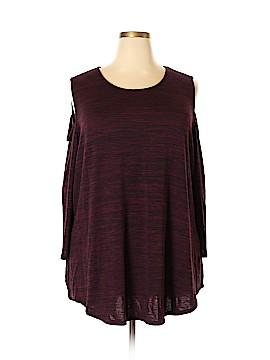 Allison Daley 3/4 Sleeve Top Size 3X (Plus)