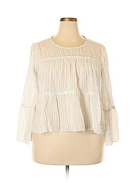 Madewell Long Sleeve Blouse Size XXL