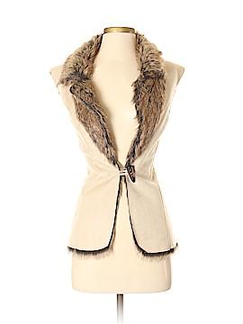 Fever Faux Fur Vest Size S