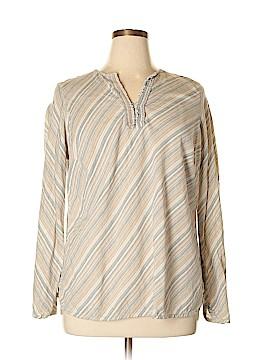 Venezia Long Sleeve Blouse Size 14-16 Plus (Plus)