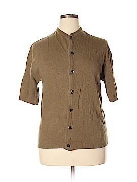 Pebble Beach Wool Cardigan Size L