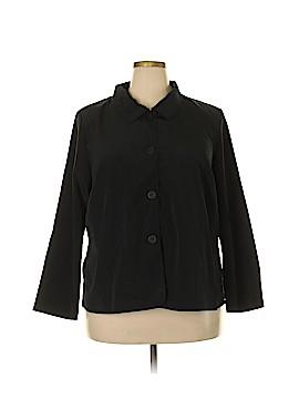 Roaman's Long Sleeve Blouse Size 20 (Plus)