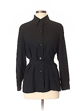 Linda Allard Ellen Tracy Long Sleeve Button-Down Shirt Size 12