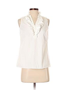 Ann Taylor LOFT Outlet Sleeveless Button-Down Shirt Size XS (Petite)